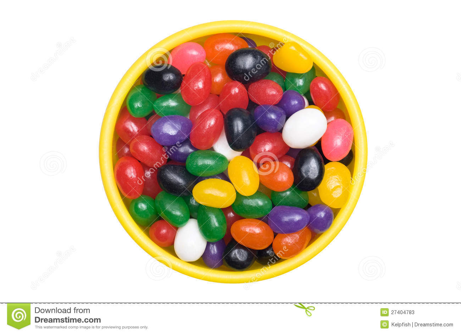 Bacia de jellybeans