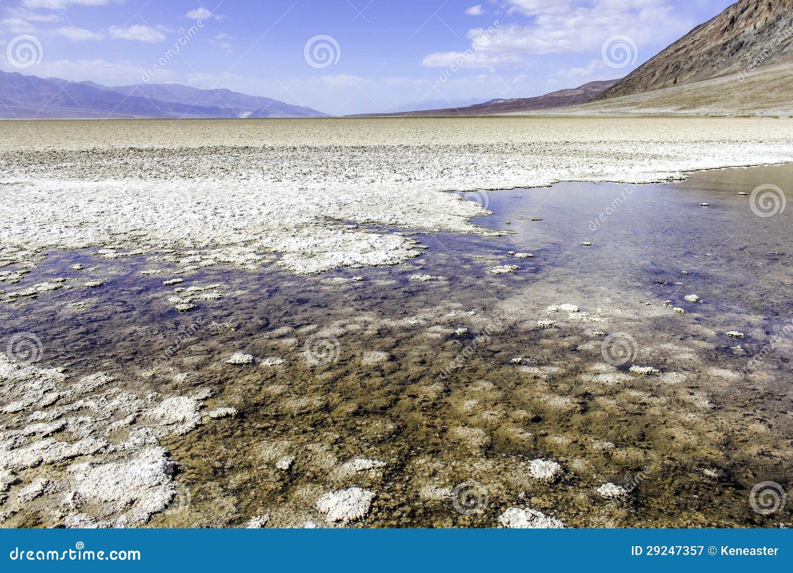 Download Bacia Salt Lake De Badwater Imagem de Stock - Imagem de atrações, lago: 29247357