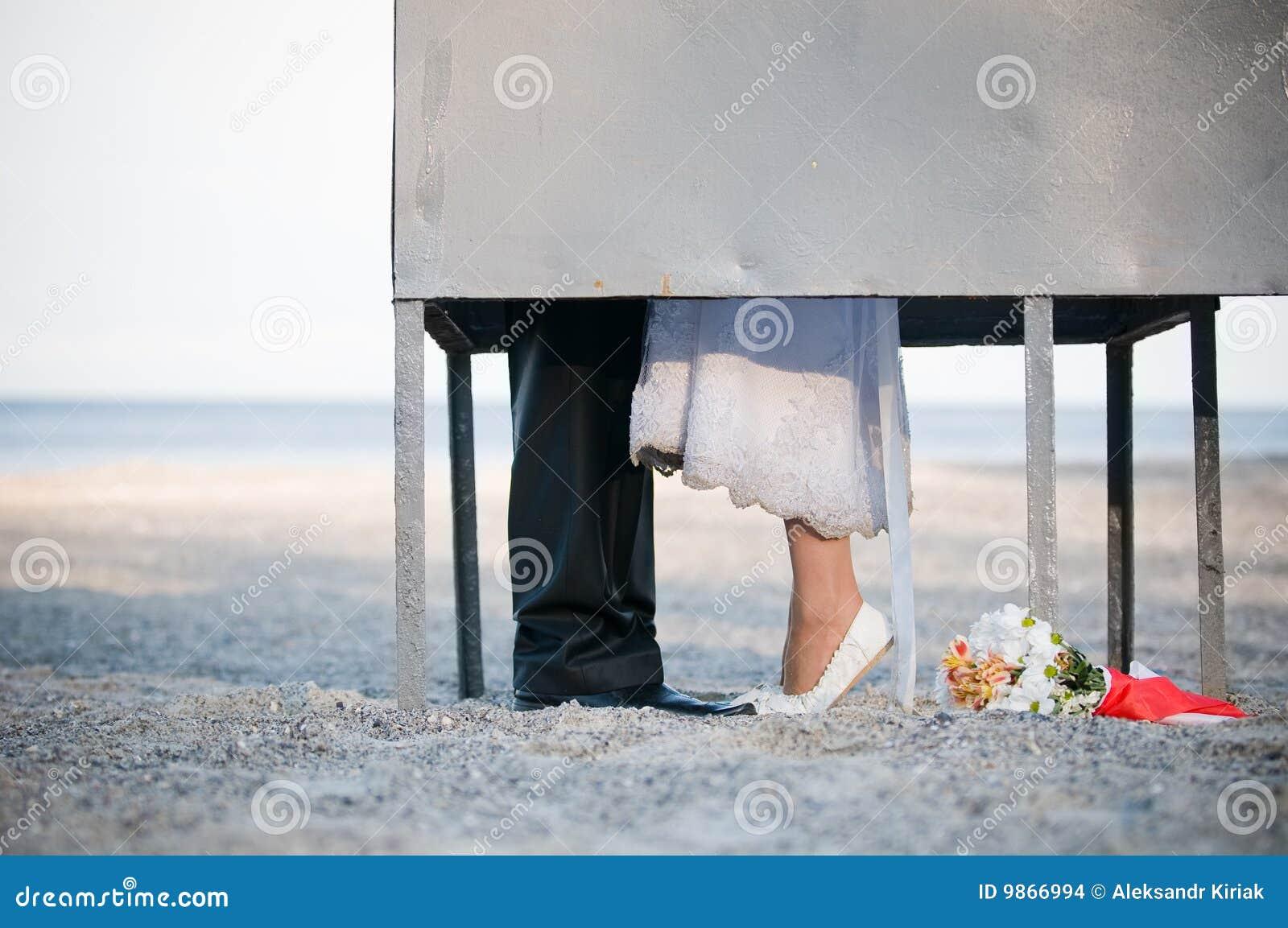 Baciare dello sposo della preparazione della cabina della for Disegni della casa della cabina di ceppo