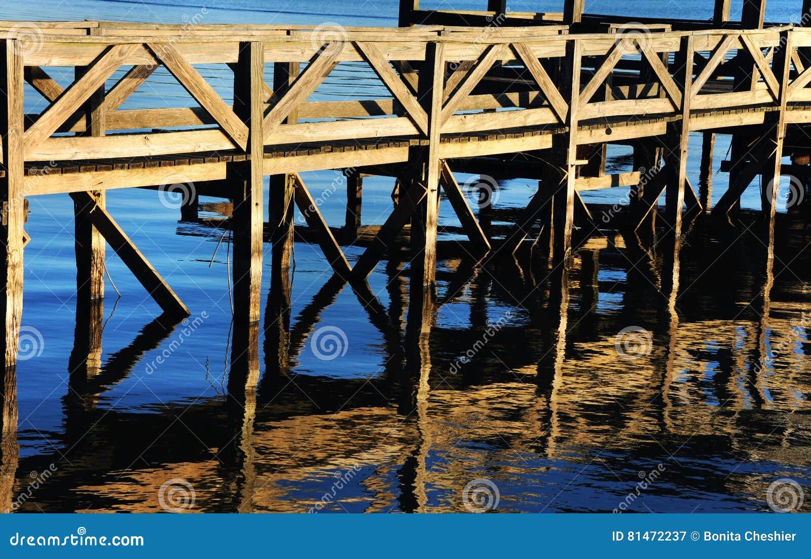 Bacino di pesca su Chicot