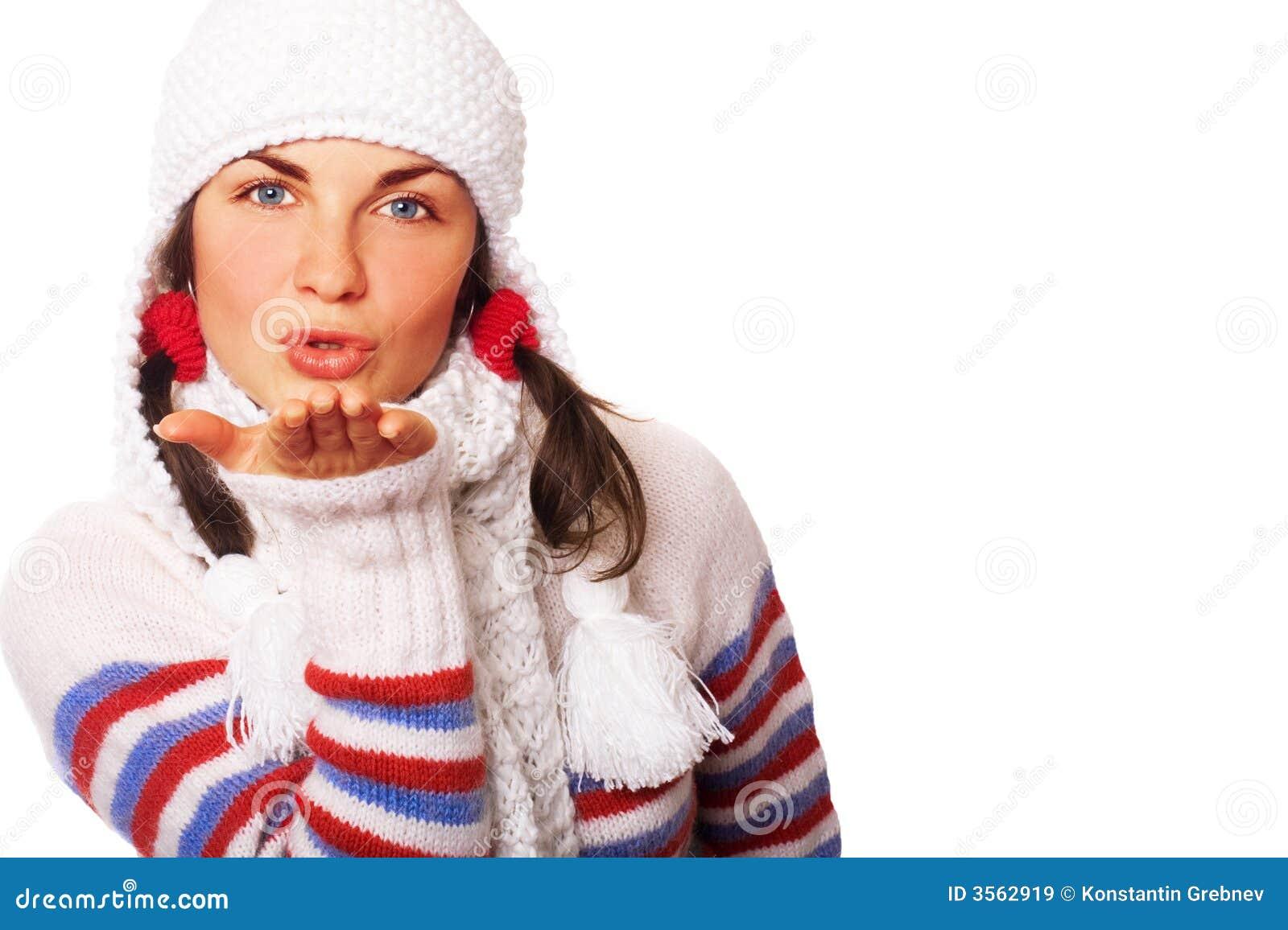 Bacio dell aria di inverno