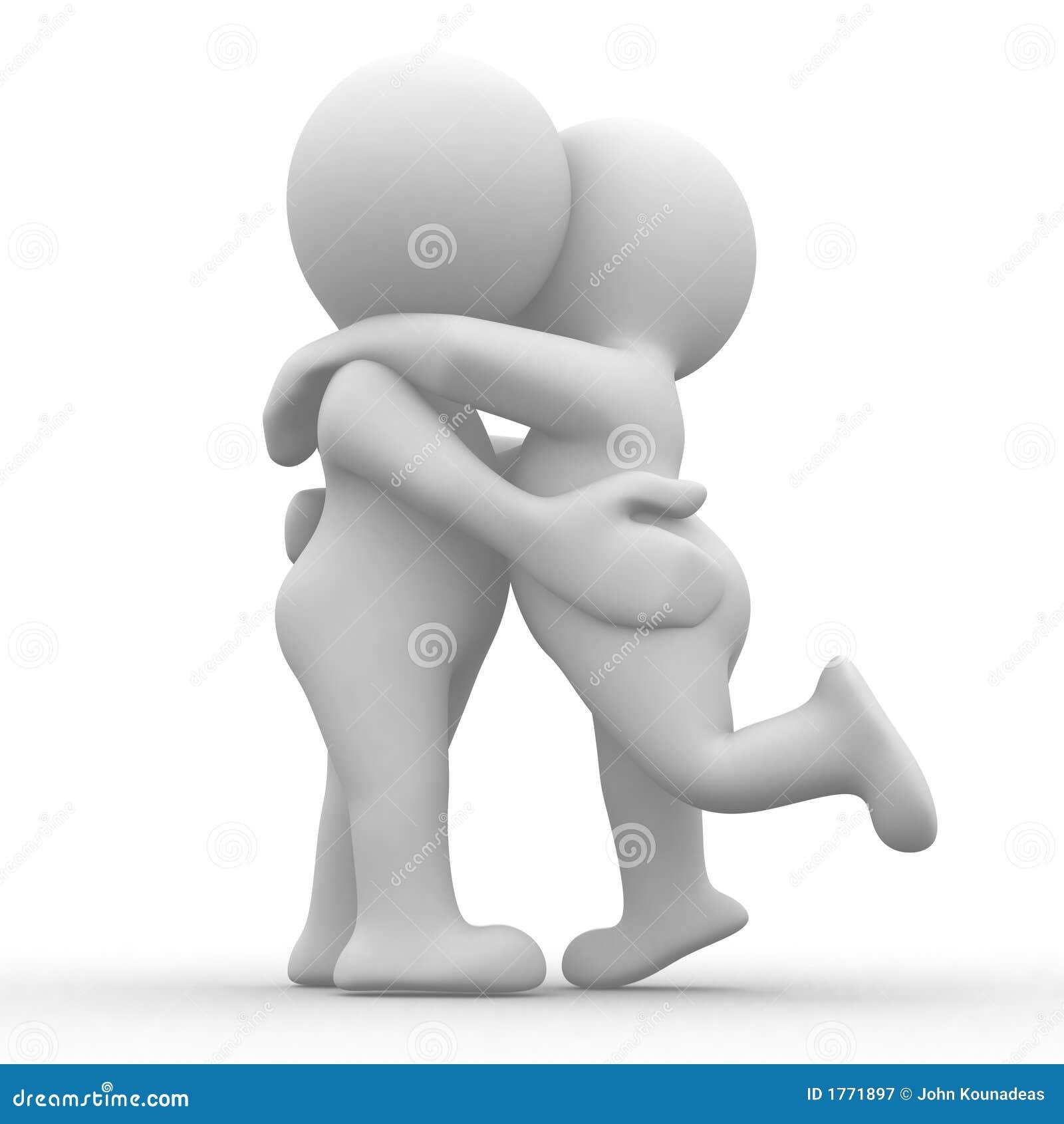 Bacio ed abbraccio