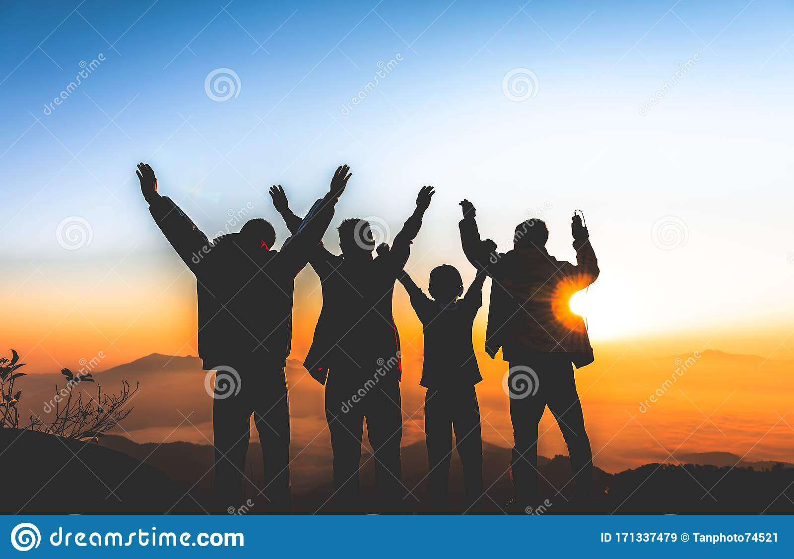 The Back Of 4 Boys Who Are Friends Editorial Stock Image Image Of Family Activity 171337479