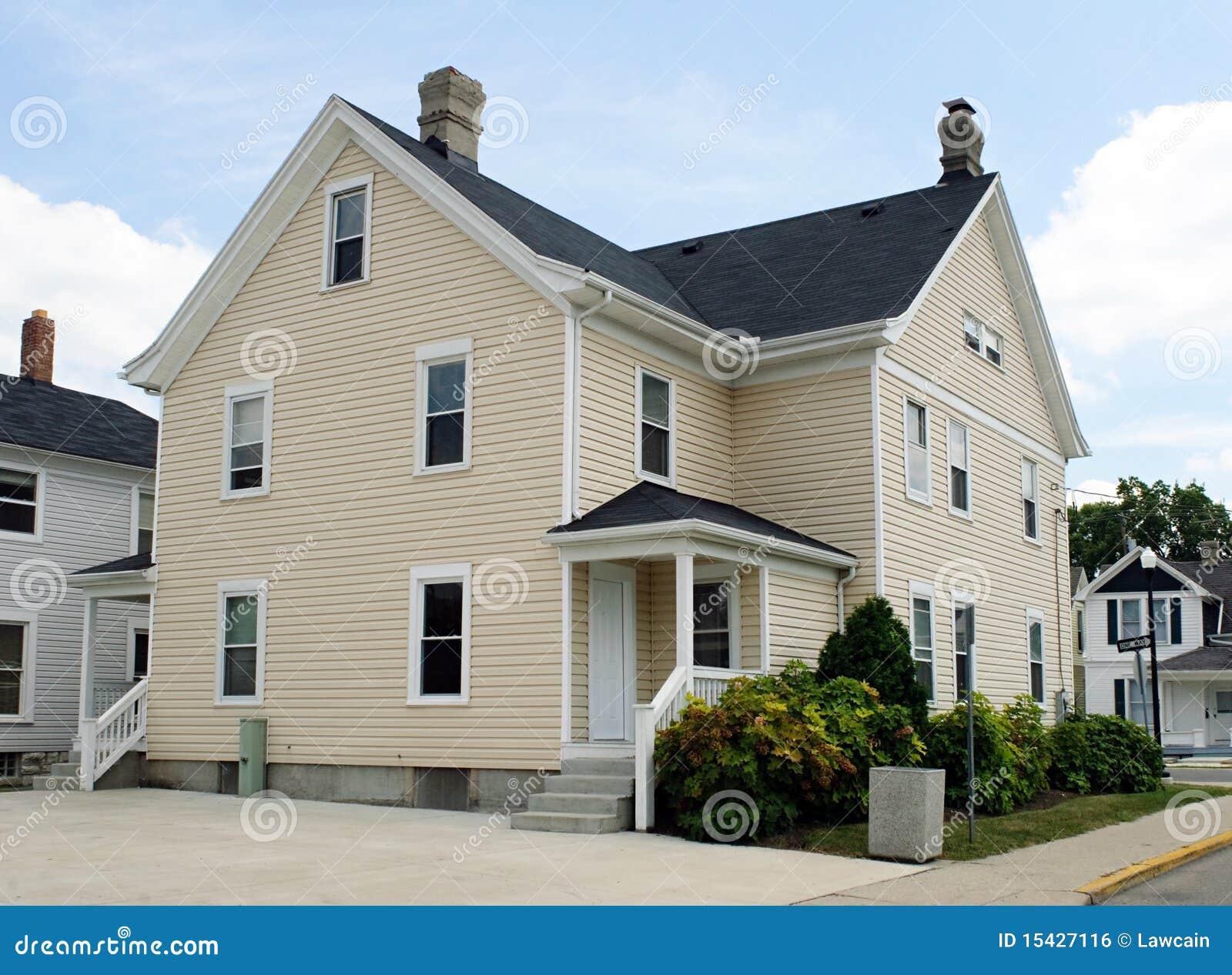 Back Corner House Royalty Free Stock Image