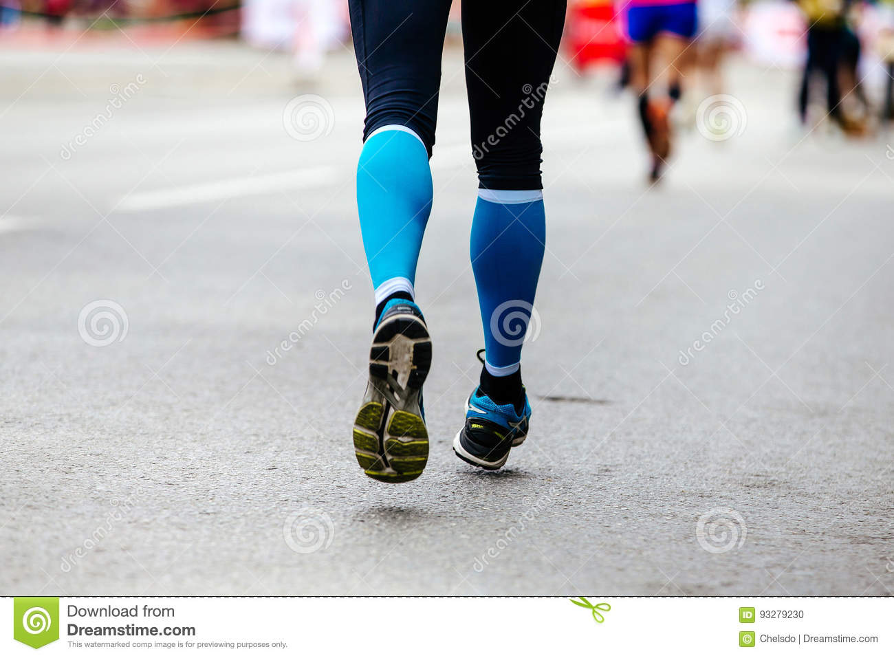 a6f479f0be Back feet woman runner stock photo. Image of endurance - 93279230