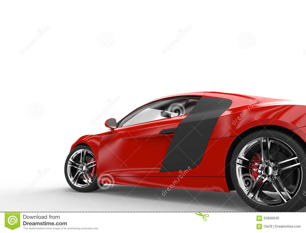 The gallery for --> Red Sports Car White Background