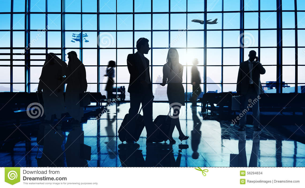 Free Images Traveling People Airport Bridge Business: Business Traveling Stock Photos