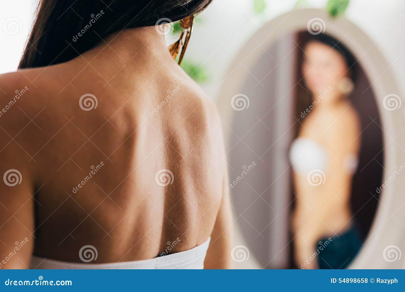 Back Ok A Woman Stock Photo. Image Of Back, Femininity