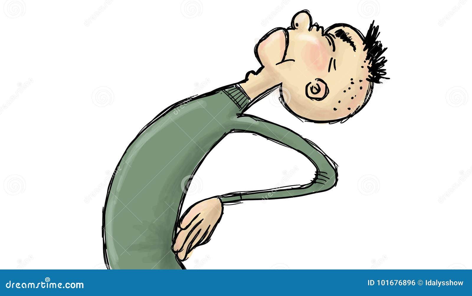 Pain Cartoons  Illustrations  U0026 Vector Stock Images