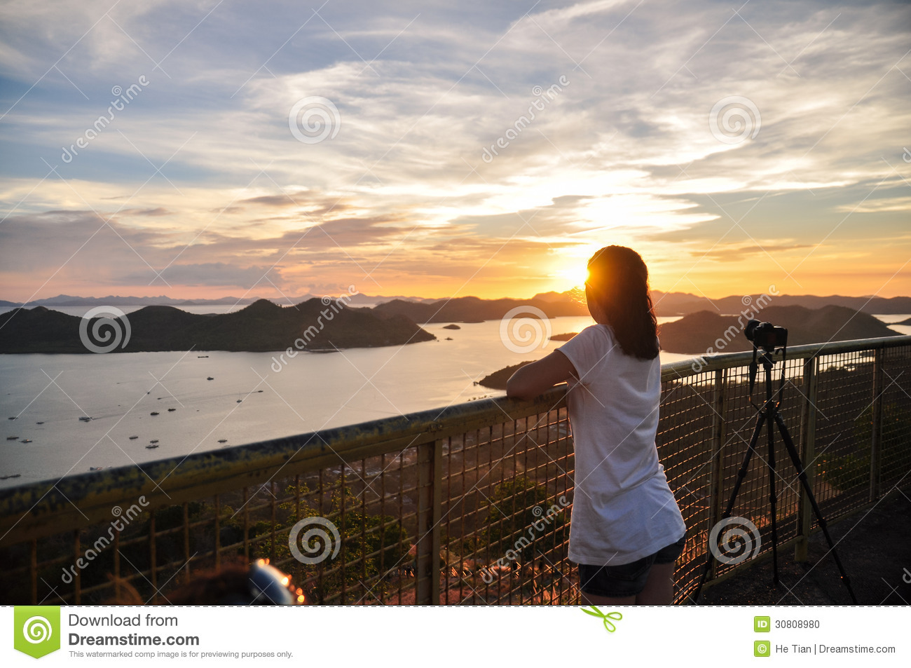 how to take sunset portraits