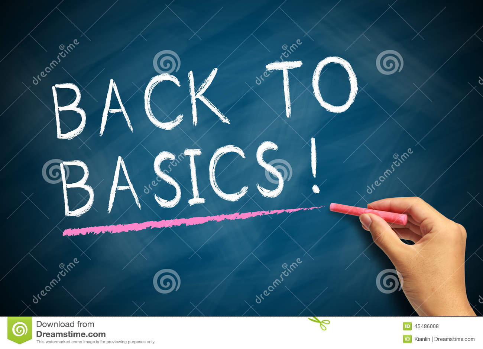 back to basics stock illustration image 45486008. Black Bedroom Furniture Sets. Home Design Ideas