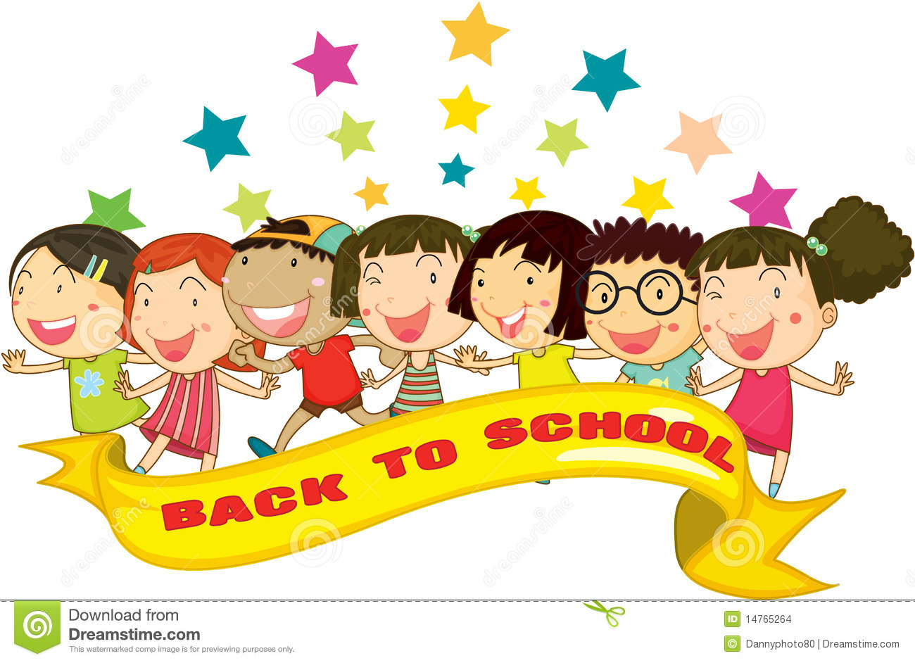 Back To School Stock Vector Illustration Of Painting