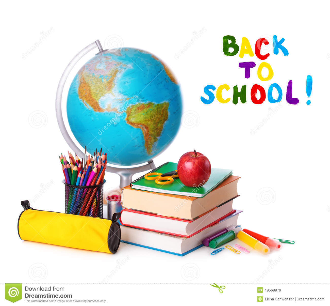 Back To School Royalty Free Stock Images Image 19568879