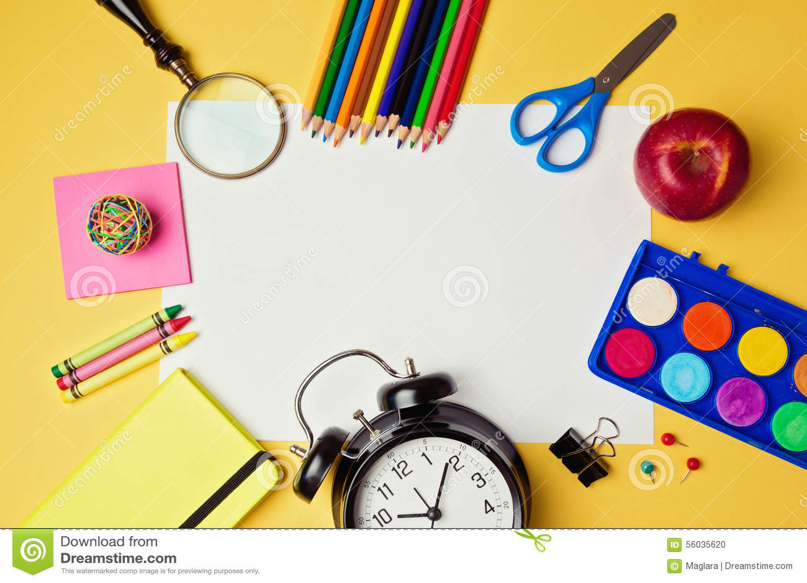 Buy time on school paper