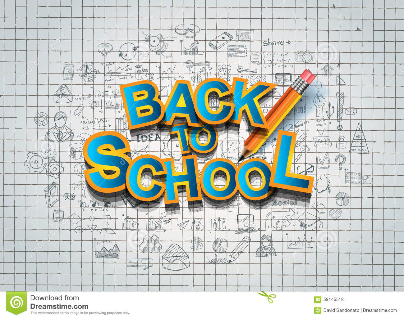 back to school background to use for advertiments  as book