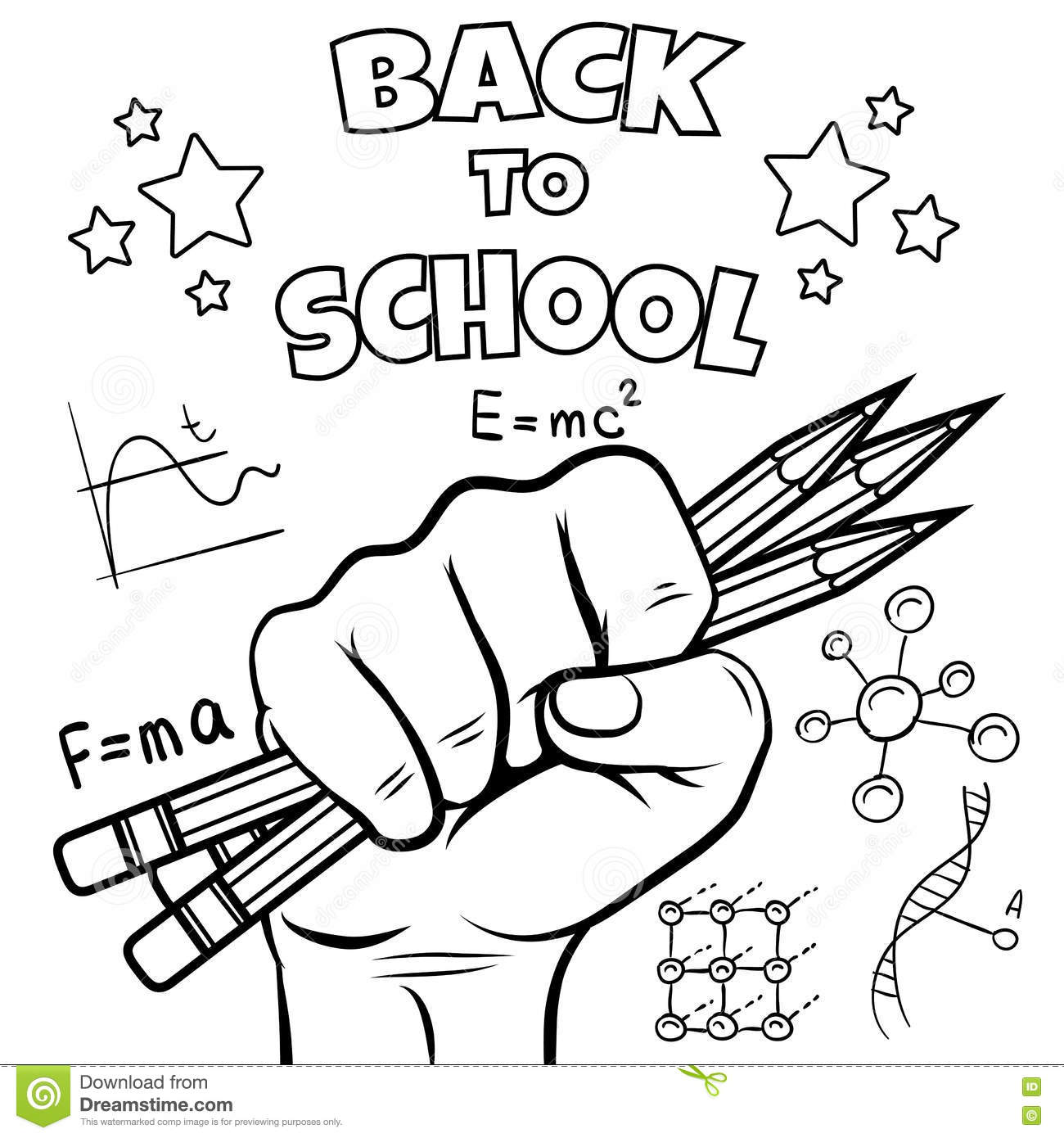 School Children Colouring Page in 2020   School coloring pages ...   1390x1300