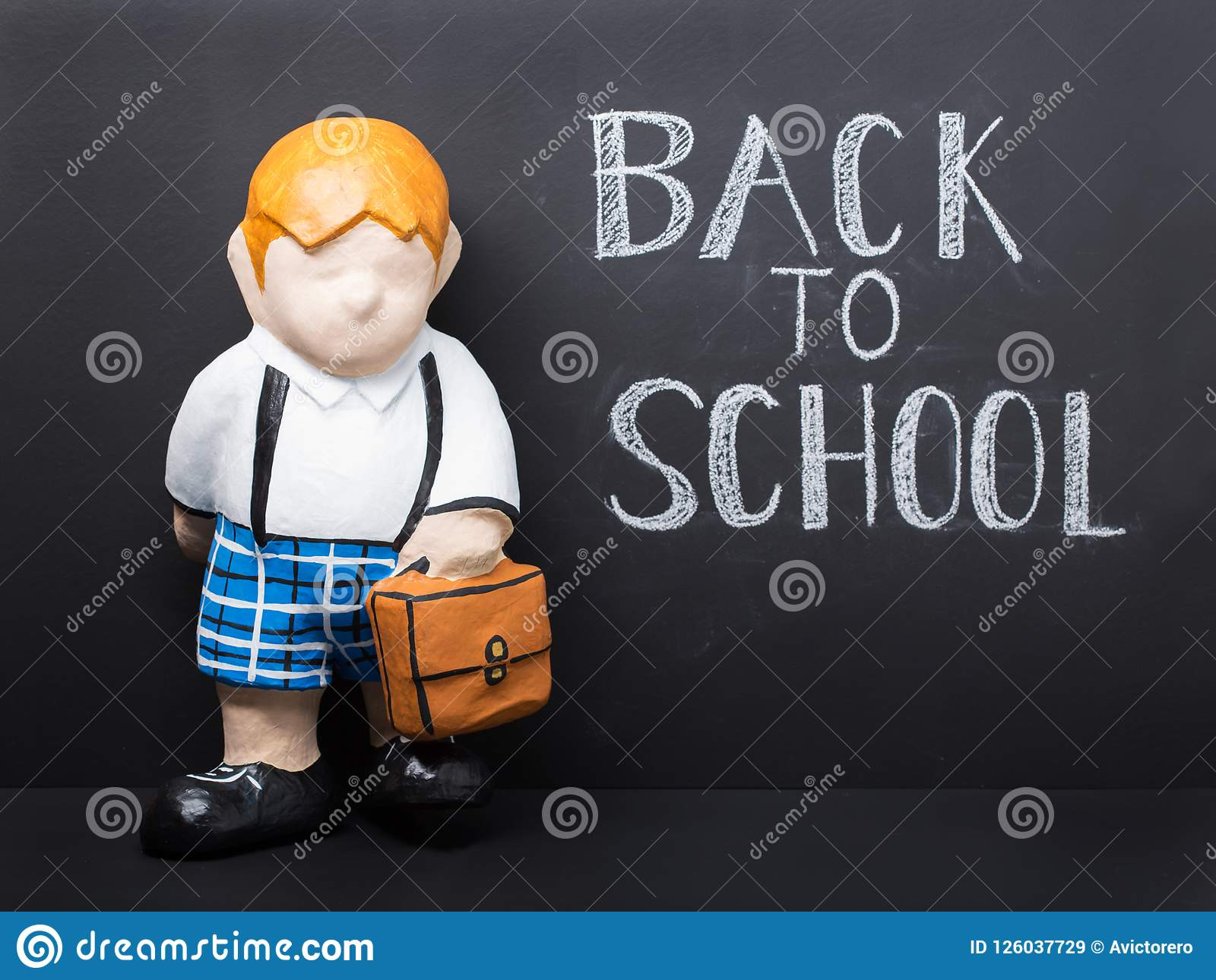 Back to school concept cute dummy