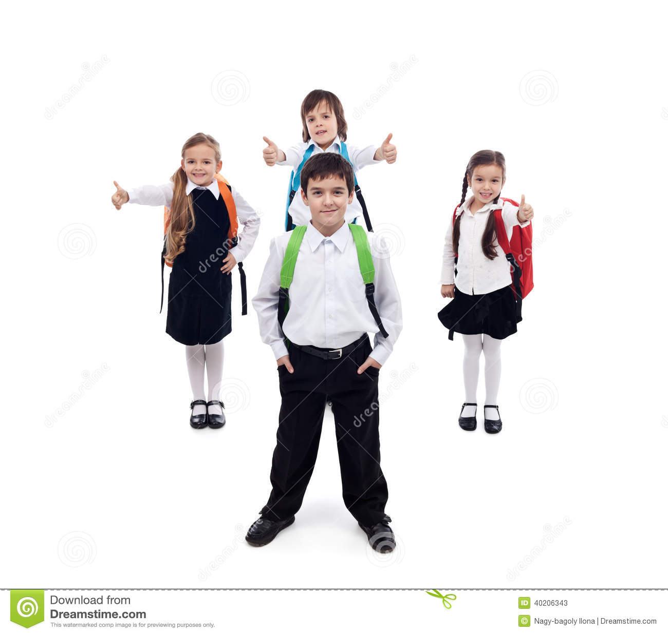 back to school concept with happy and cool kids stock kids holding hands clip art border Girls Holding Hands Clip Art