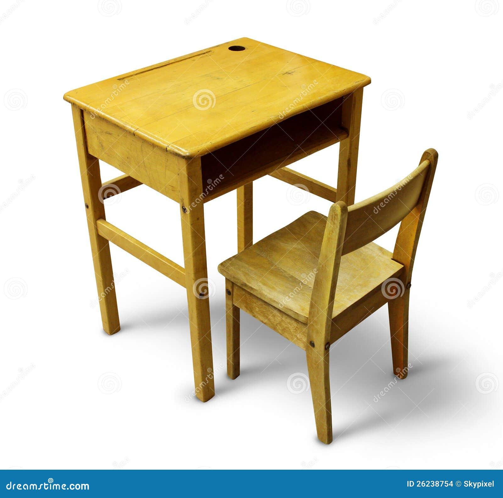 Back To School Desk Stock Images Image 26238754