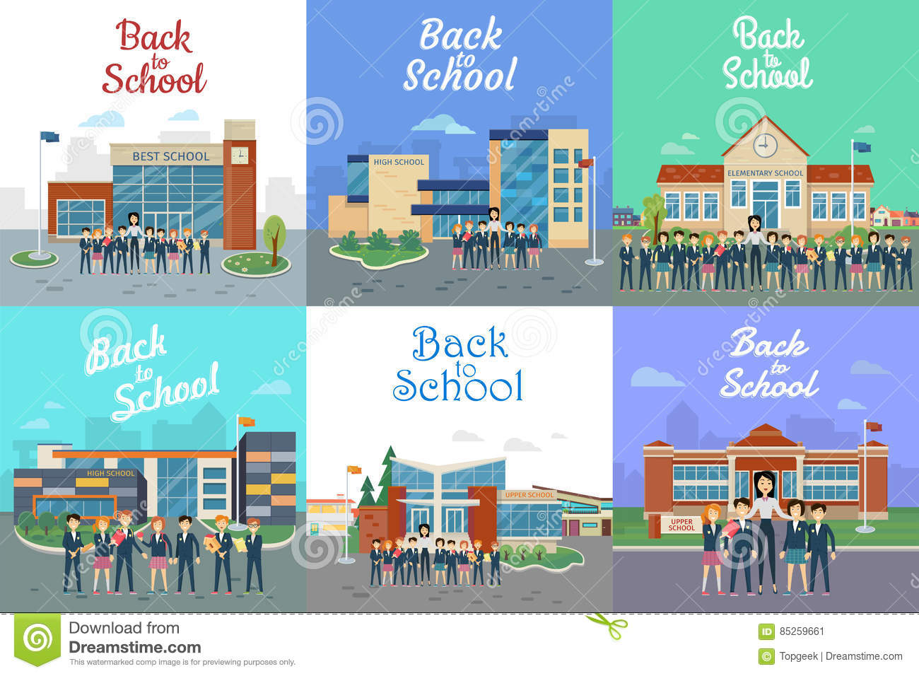 what are the different types of schools