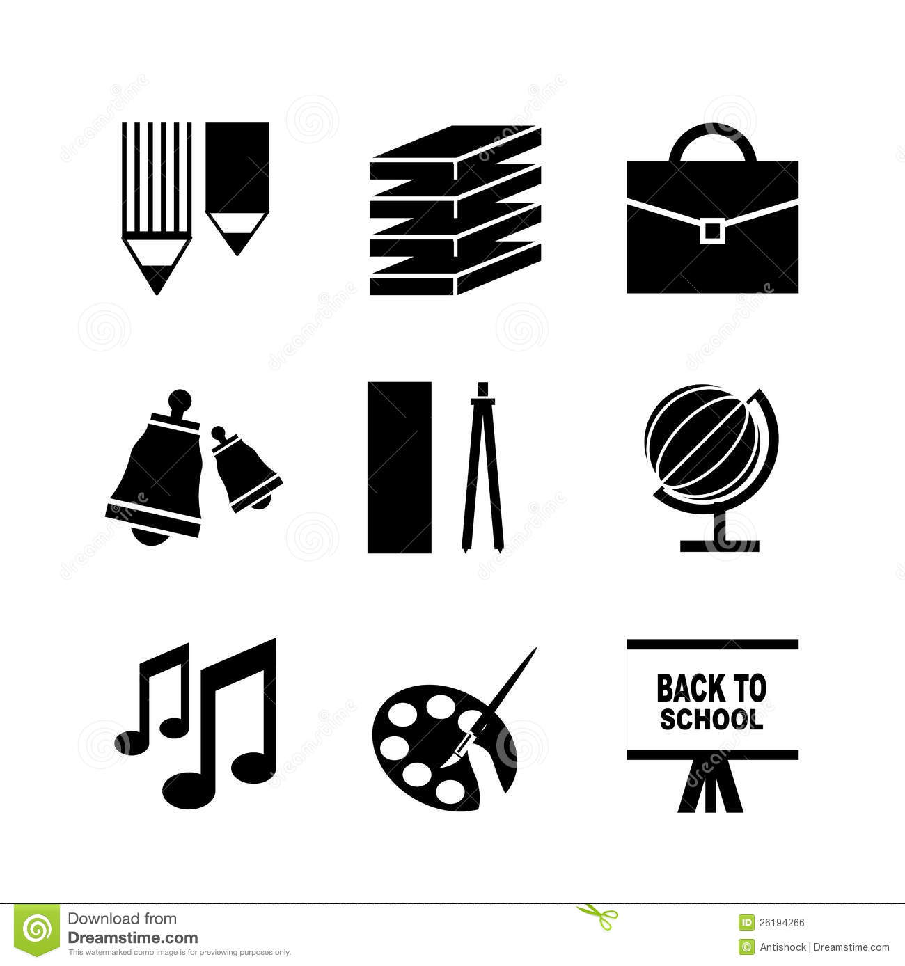 back to school vector - photo #27