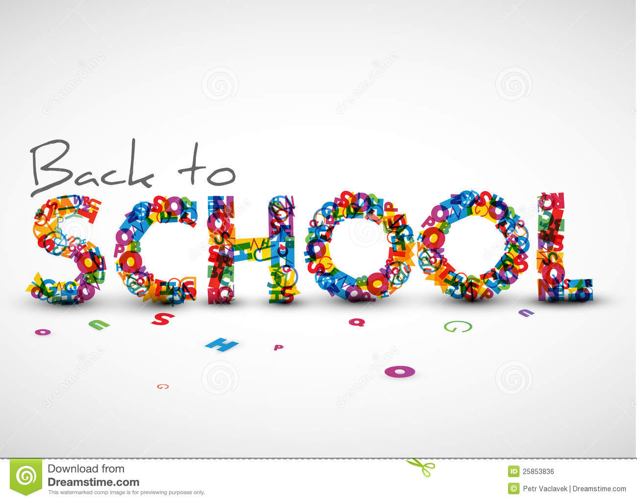 back to school vector - photo #7