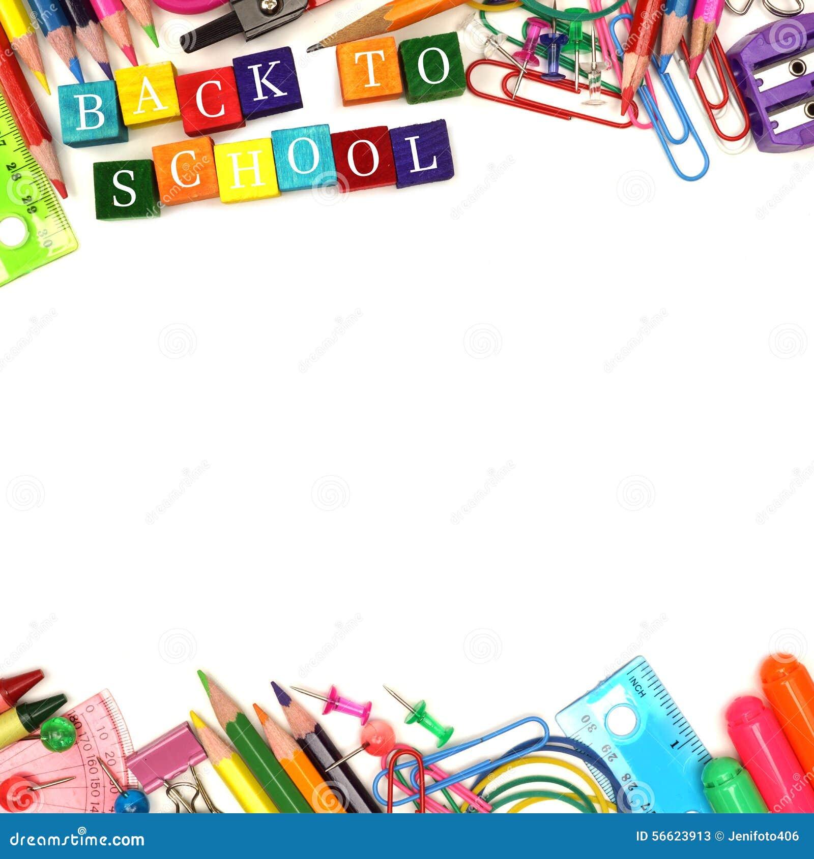 Back To School Supply Box Design