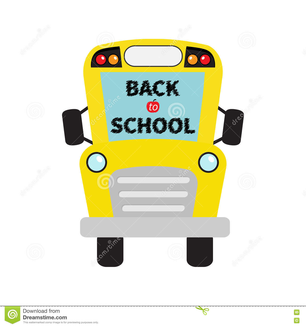 back to school bus clipart - photo #24