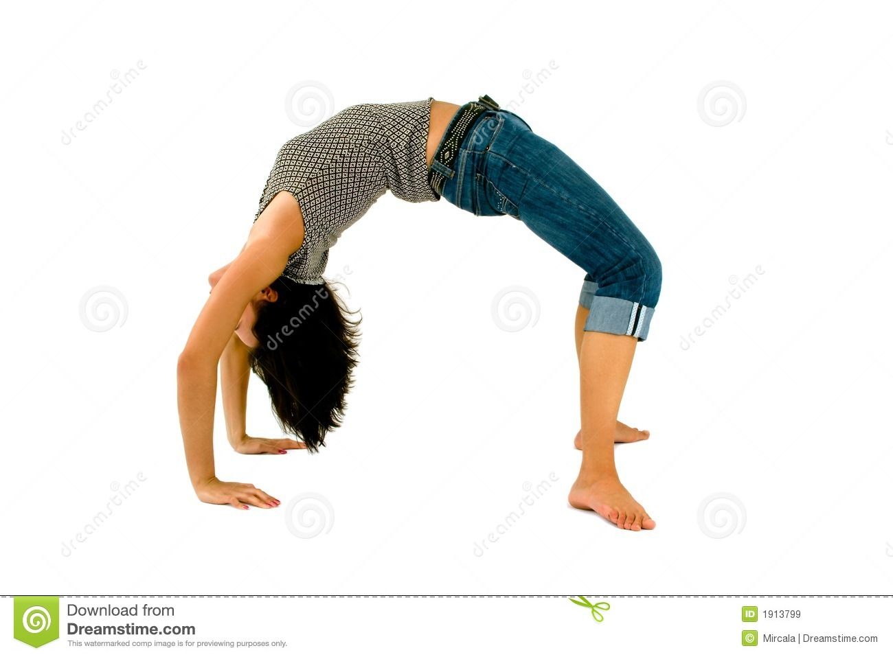 Royalty Free Stock Images: Backbend. Image: 1913799