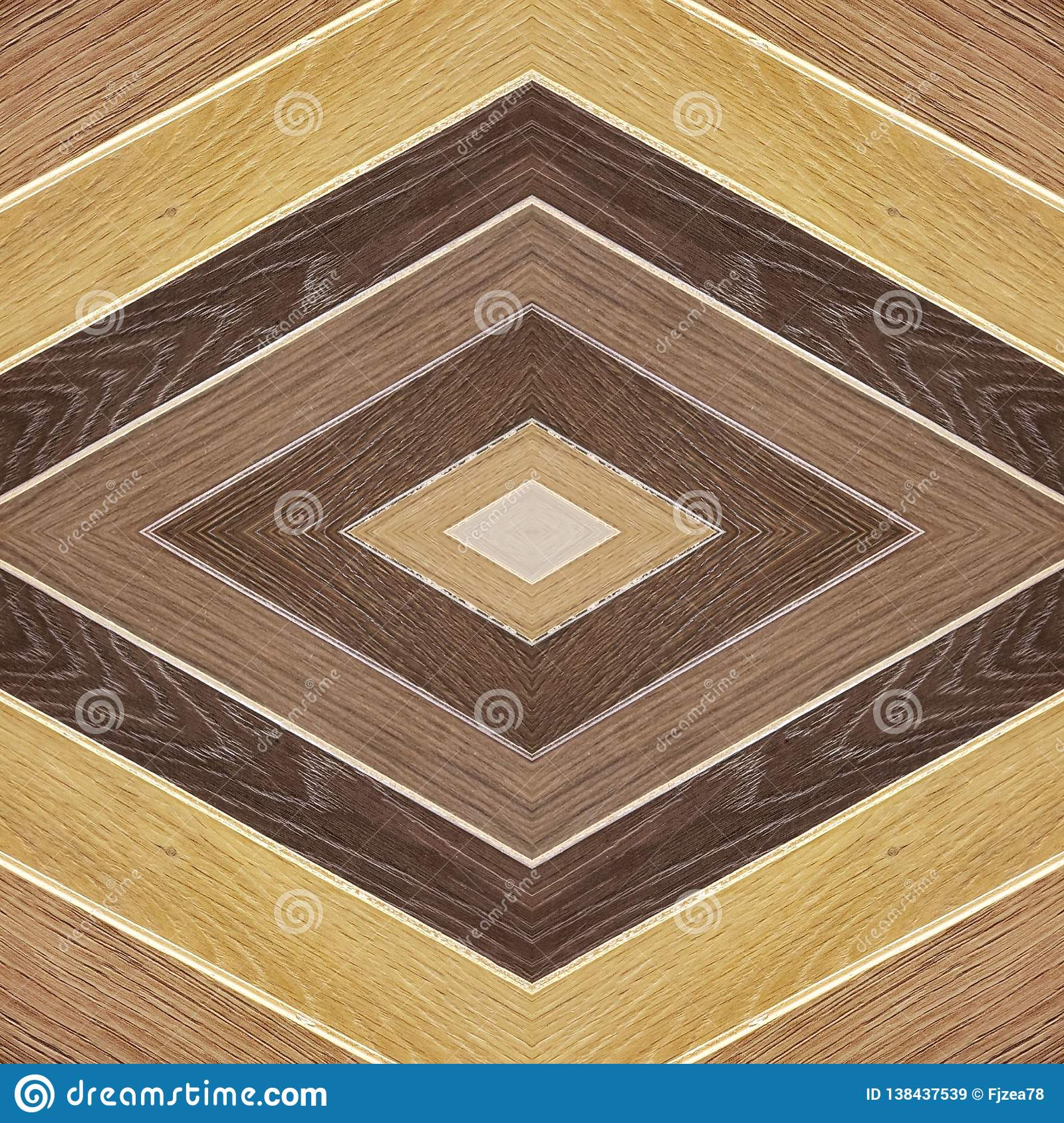 abstract design in wood material with various colors, background and texture