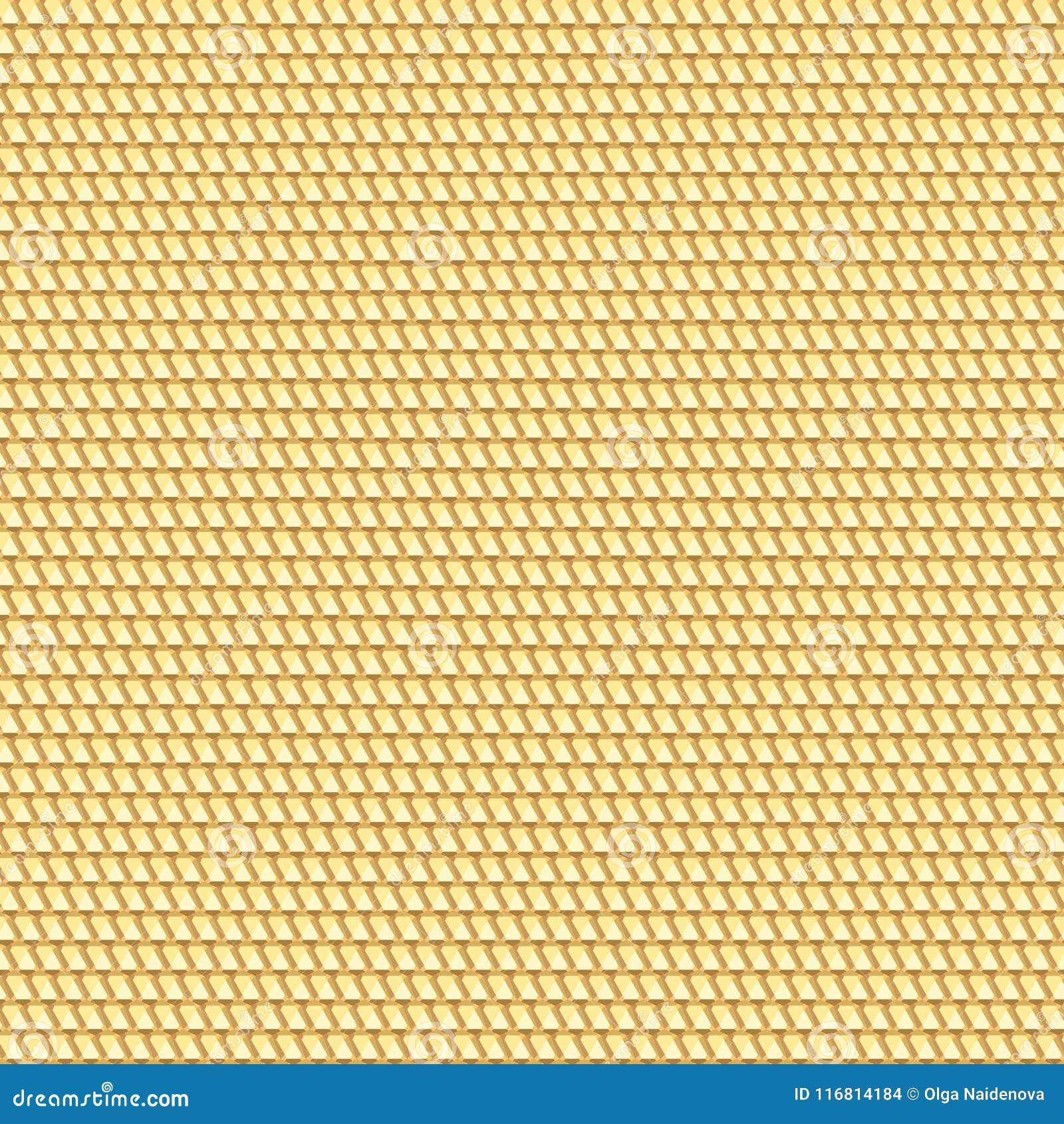 Backgro modellato geometrico di struttura senza cuciture dorata