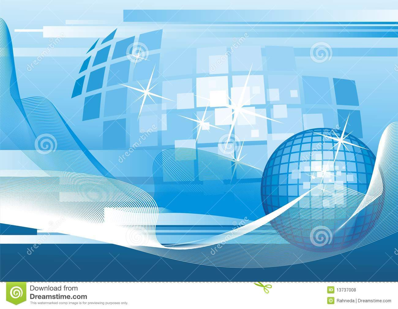 background with abstract globe  royalty free stock photos