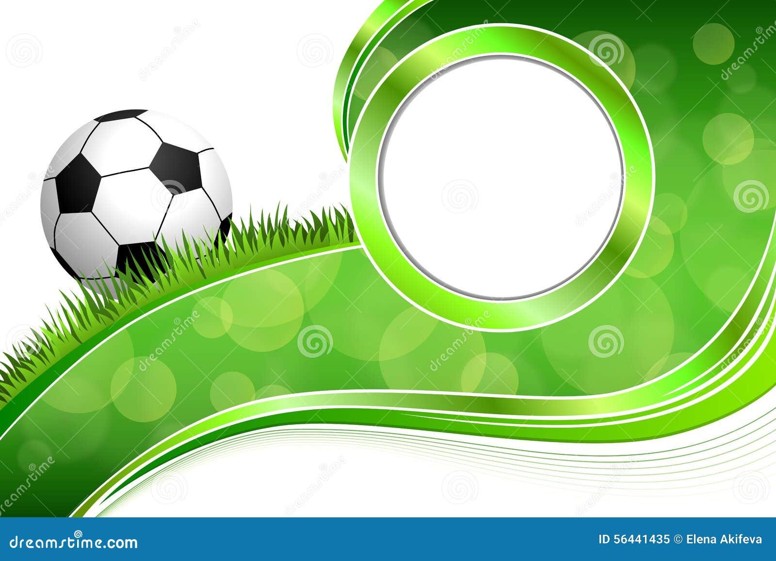 Background abstract green grass football soccer ball frame circle background abstract green grass football soccer ball frame circle illustration illustration 56441435 megapixl jeuxipadfo Images