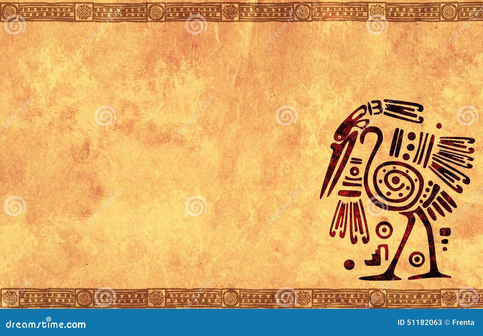 Ancient Mexican Designs Clip Art