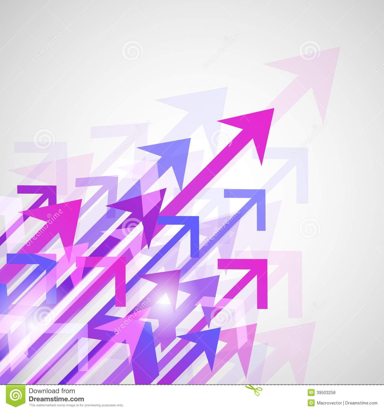 Background arrows print