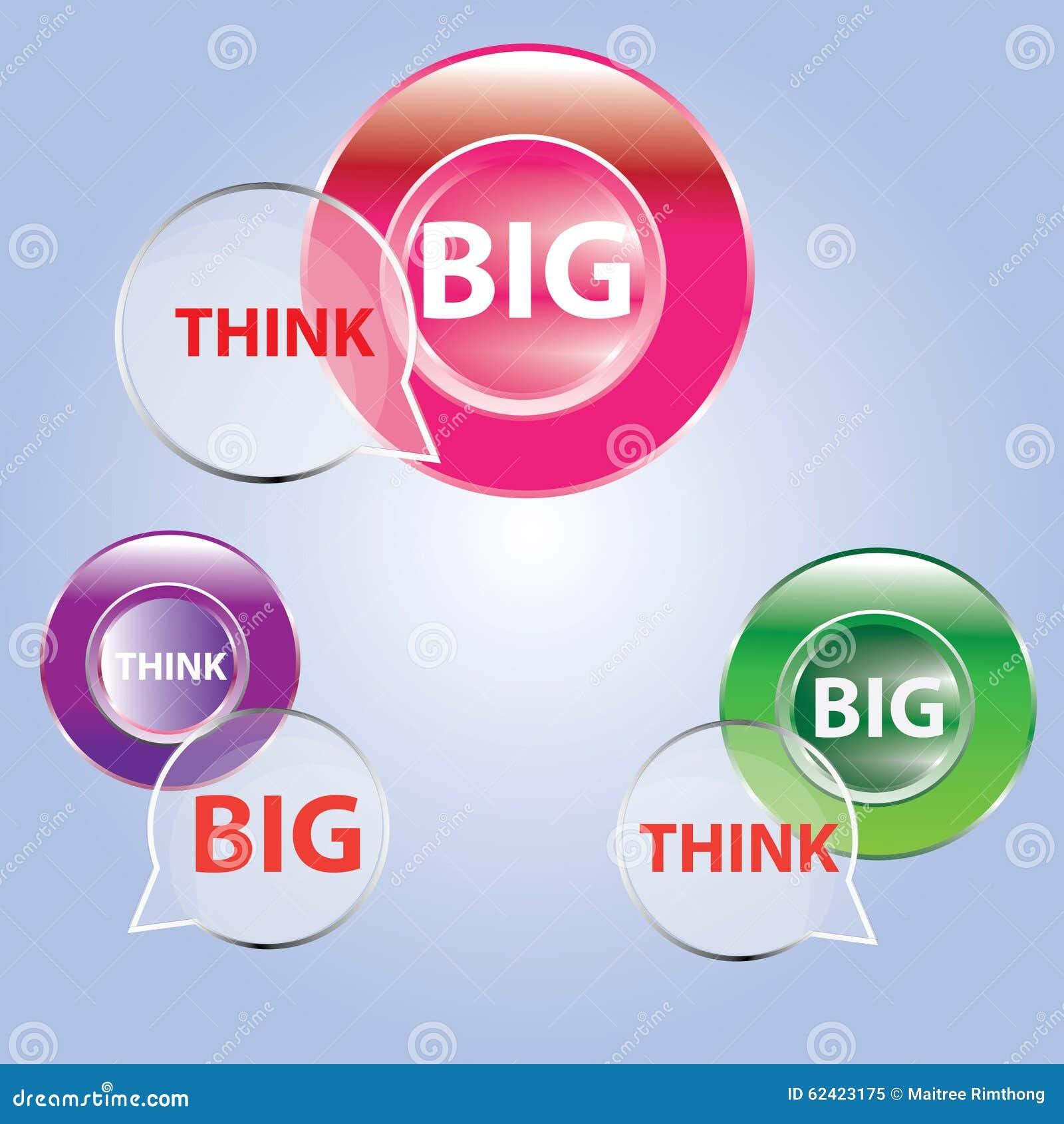 Background Banner Big Business Design Stock