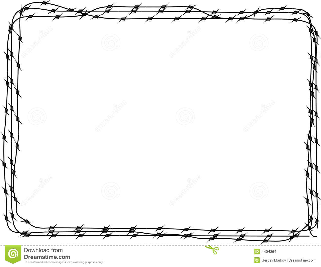 Background - Barbed wire 3 stock vector. Illustration of color - 4404364