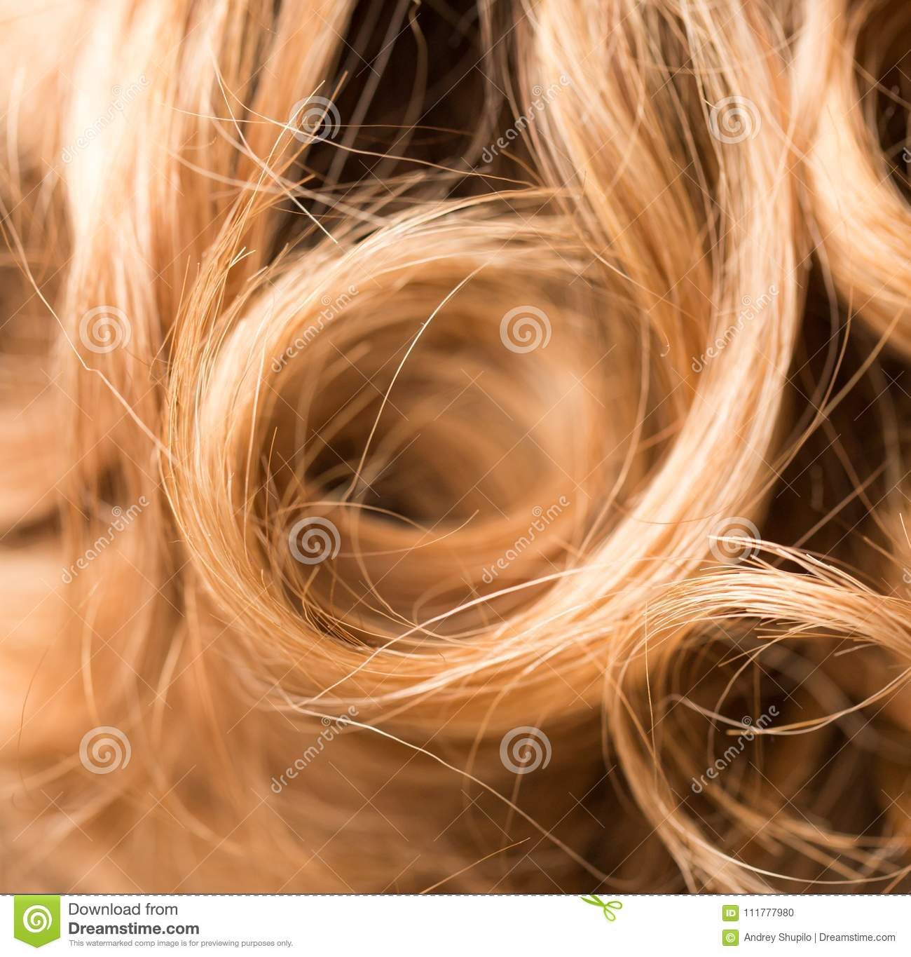 Background of beautiful woman`s hair