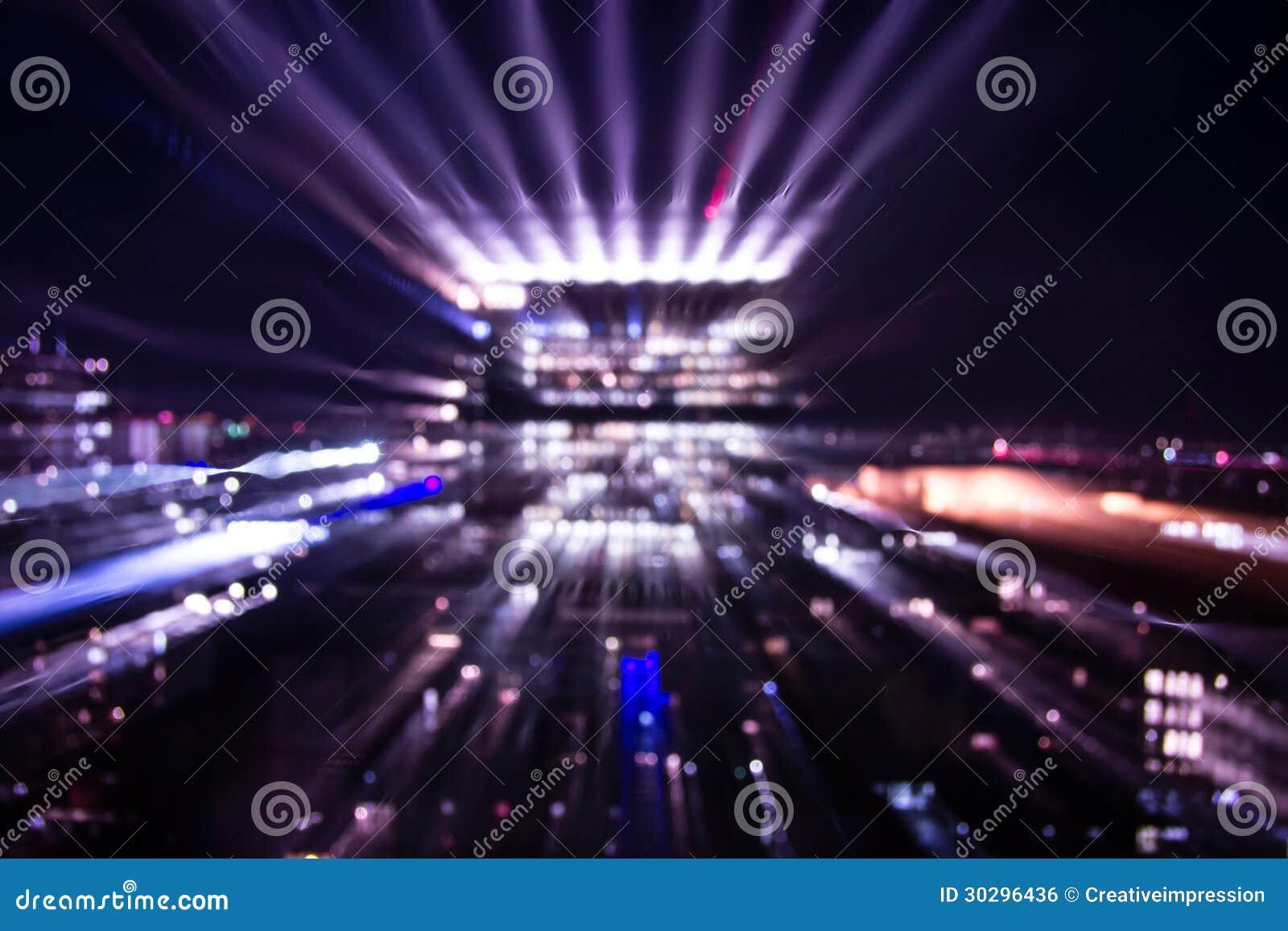 big city lights royalty free stock image image 30296436. Black Bedroom Furniture Sets. Home Design Ideas