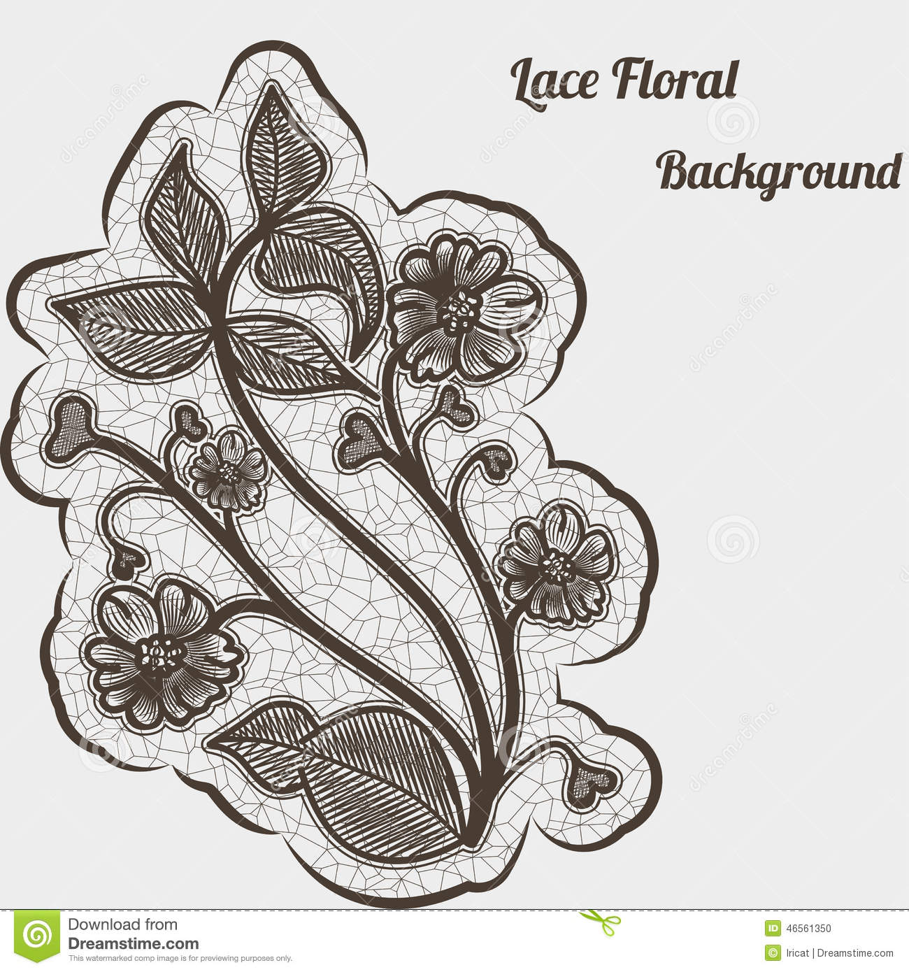 Background With Black Lace Flower For Design Greeting Cards And – Greeting Cards and Invitations