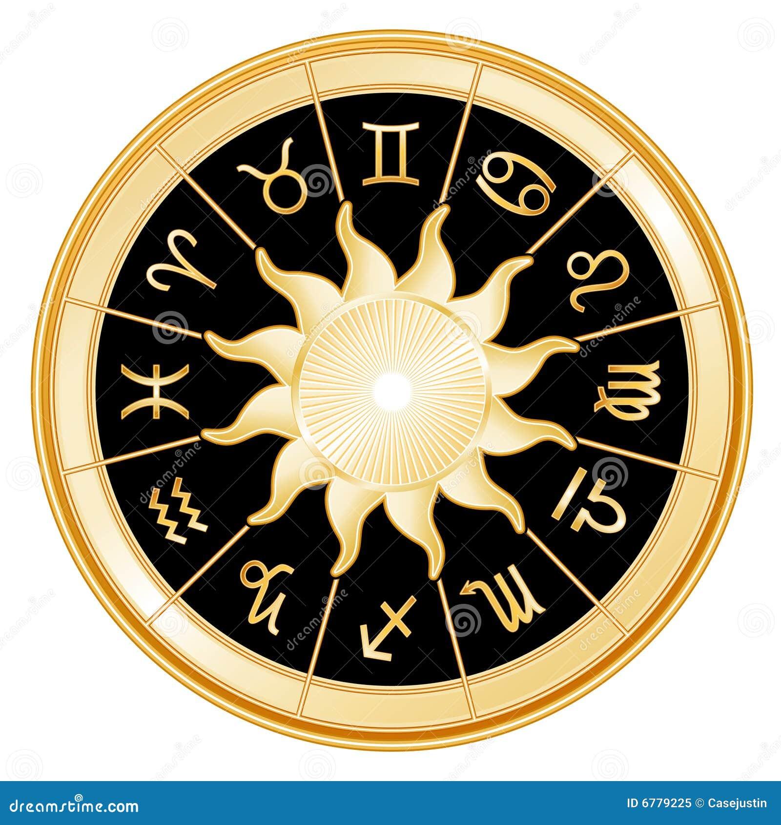 Background Black Signs Sun Zodiac