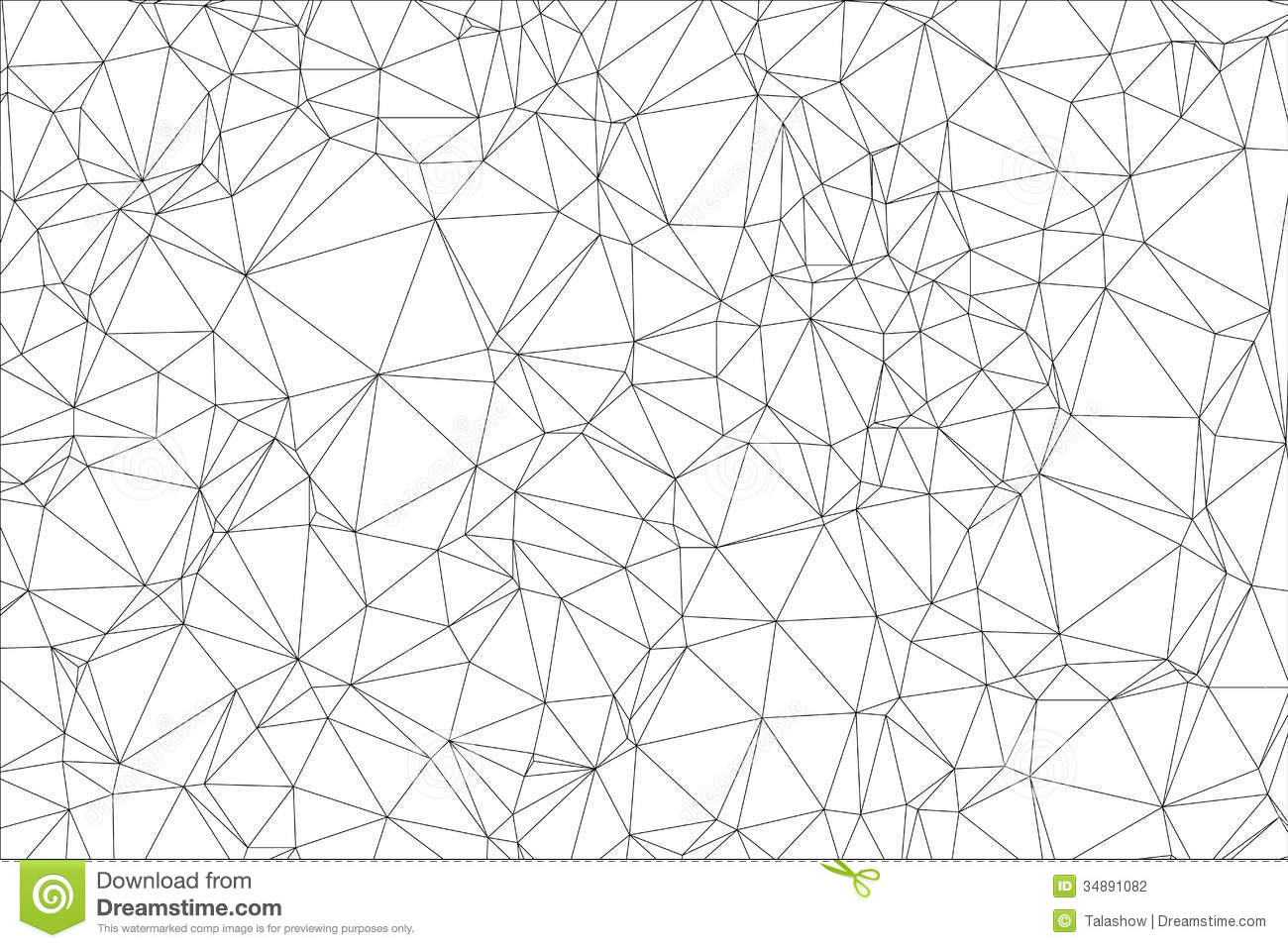 background black and white polygon  stock photography