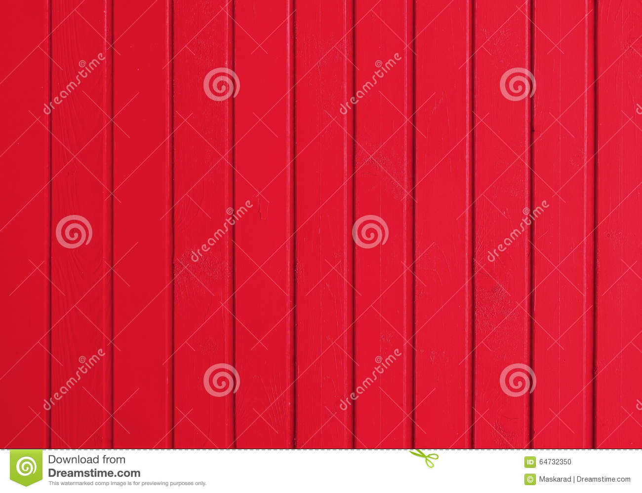Background from the boards painted by red paint