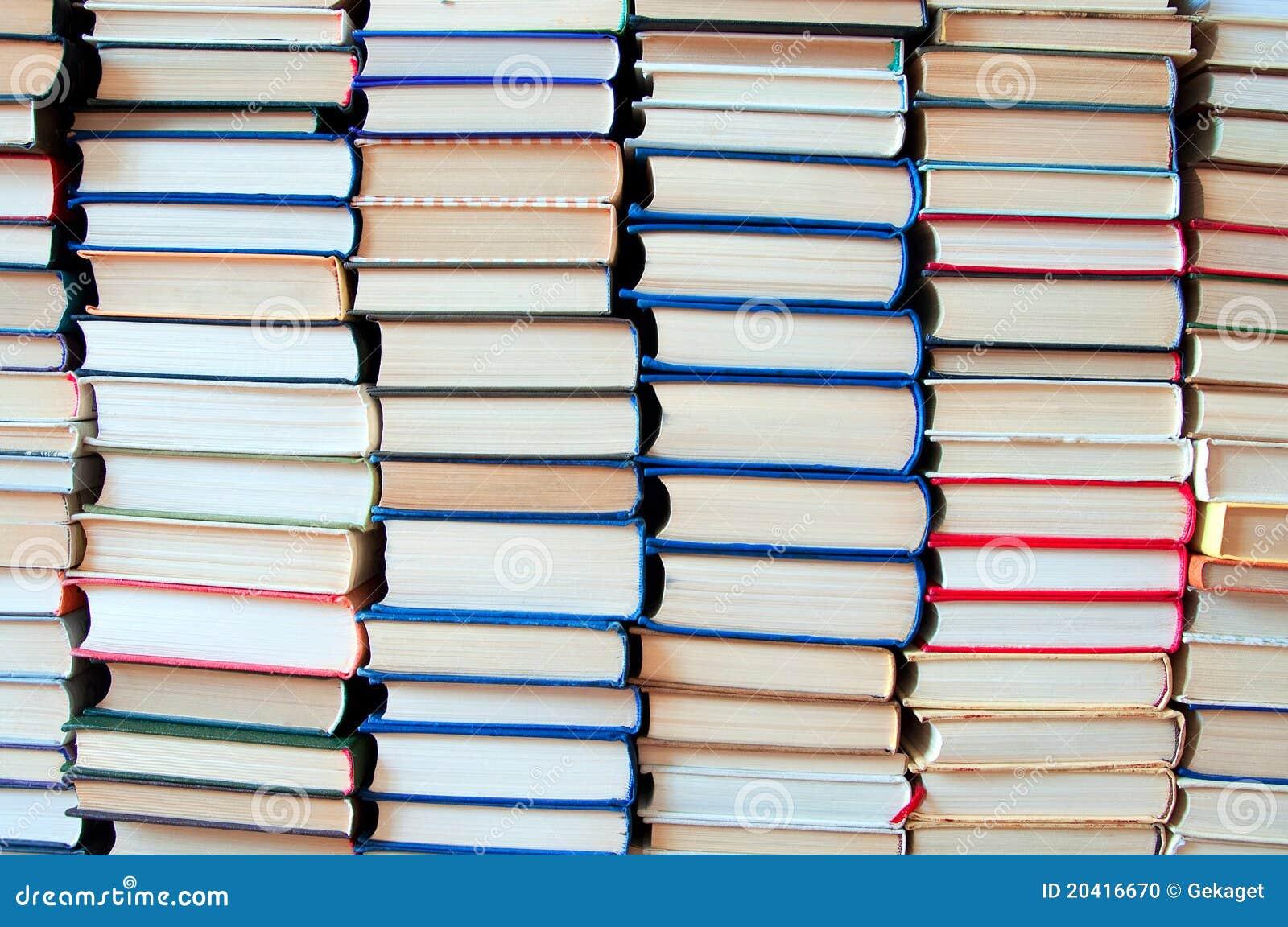 Background Books Stock Photo - Image: 20416670
