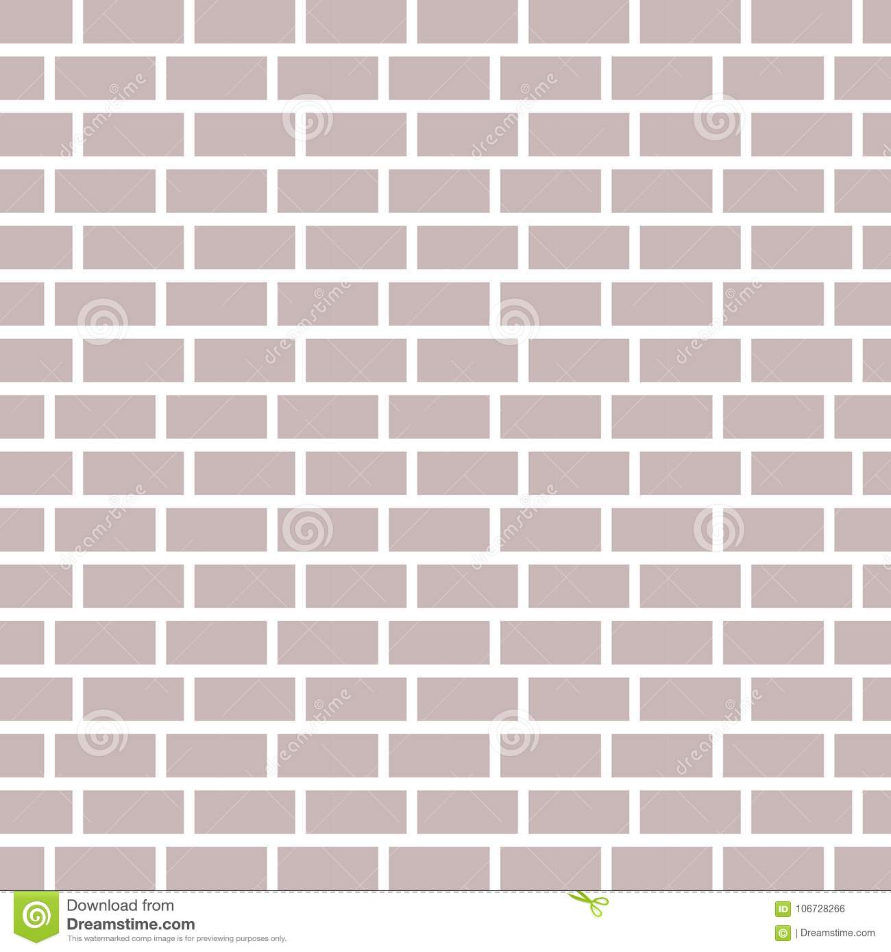 Background. Brick Wall. Template. Vector Illustration Stock ...