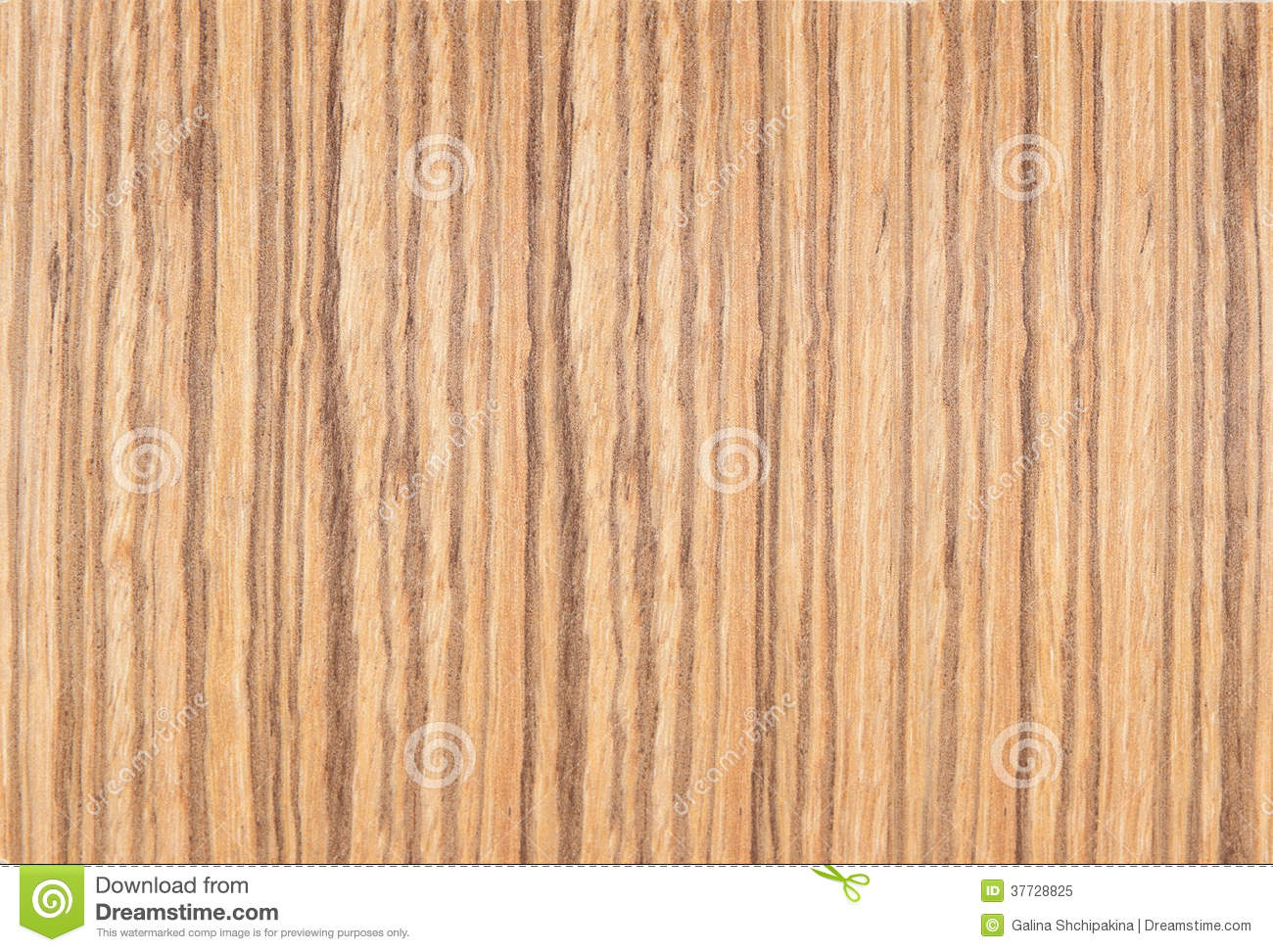 Background Of Brown Striped Laminate Yellow Stripes