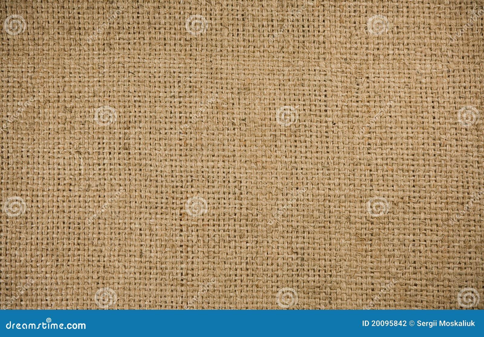Background of burlap sacking