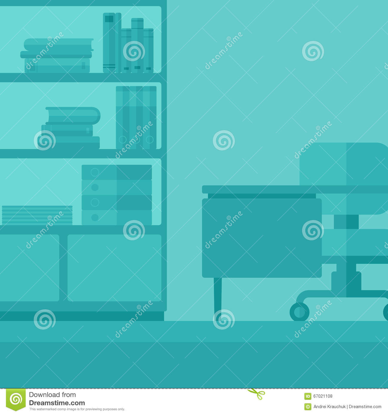 Background Of Business Office Stock Vector Illustration Of