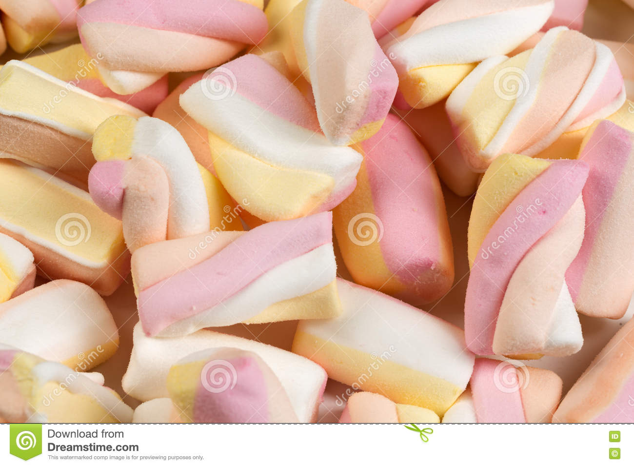 Background of the chewy sweets.