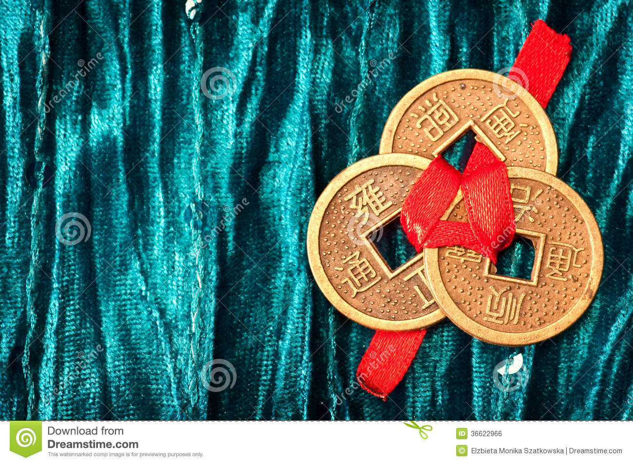 How to tie three chinese coins with red thread / Quantum ... - photo#30